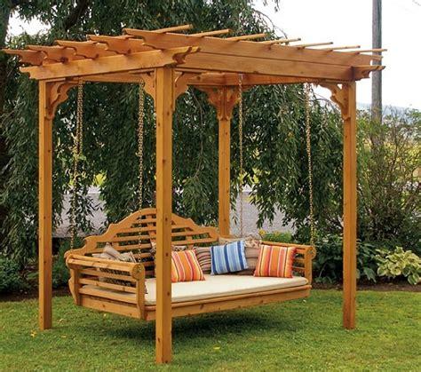 Kaya Kayu Painting Kit cedar pergola swing bed stand
