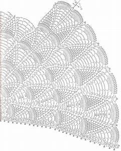 Crochet Pineapple Skirt Diagram