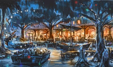 The Boat Ride In Spanish by Secrets Behind Shanghai Disneyland S Pirates Of The