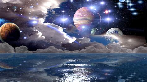 widescreen outer space space desktop images planet