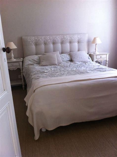 fabriquer une chambre de pousse tête de lit capitonnée faite maison inspiration chambre