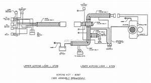 Dixon Ztr 503  1992  Parts Diagram For Wiring Assembly