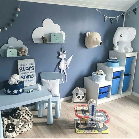 Ästhetische Inspiration Kinderzimmer Blau Grau Und Schöne