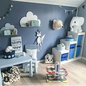 Kinderzimmer Blau Grau : inspiration einrichtung kinderzimmer bibkunstschuur ~ Markanthonyermac.com Haus und Dekorationen
