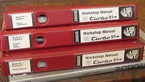 For Sale  964 Turbo Factory Workshop Manuals