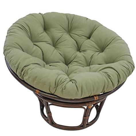 blazing needles solid twill papasan chair cushion 52 x 6 x 52 chair cushion shop