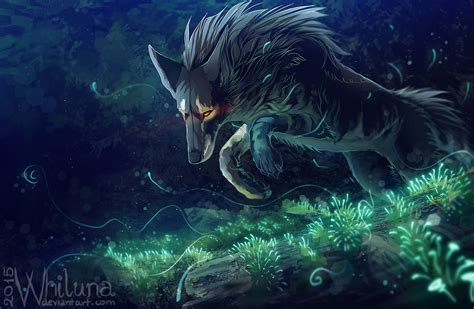Animal Magic Wallpaper - this magic moss by whiluna on deviantart