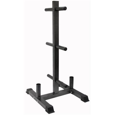 vtx vertical olympic bumper plate rack  bar holder walmartcom walmartcom