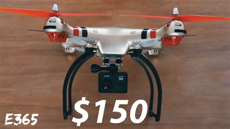 cheapest drone  camera     poor mans phantom youtube