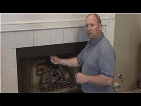 basic home improvements   work  fireplace damper