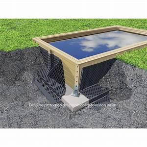 Piscine Bois Ubbink : piscine bois azura ubbink 200x350 cm h71 cm ~ Mglfilm.com Idées de Décoration