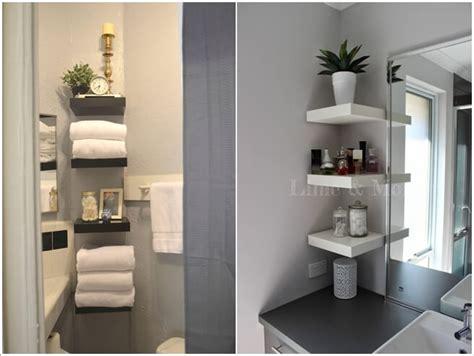 bathroom closet ideas 15 ways to hack ikea lack wall shelf