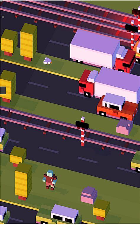 crossy road    time game   load  fun