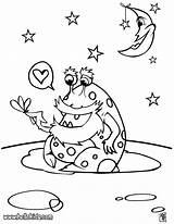 Alien Coloring Pages Space Ufo Printable Galaxy Mars Print Monster Aliens Sheets Bruno Outer Hellokids Rocket Preschoolers Getcolorings Funny Getdrawings sketch template