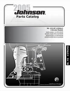 2005 Johnson Evinrude 90  115hp 4
