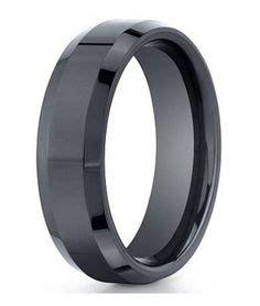 24 best alternative wedding rings for men images alternative wedding rings black titanium