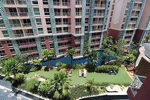 Meer poolblick 2 zimmer eckwohnung im grande caribbean for Katzennetz balkon mit pattaya garden resort bungalow