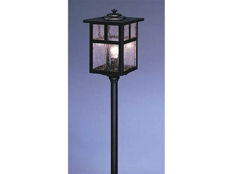 arroyo craftsman mission outdoor post mount light lv12 m5
