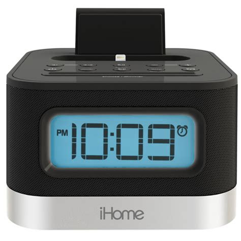 iphone clock radio buy ihome ipl10 lightning dock for iphone 5 dual