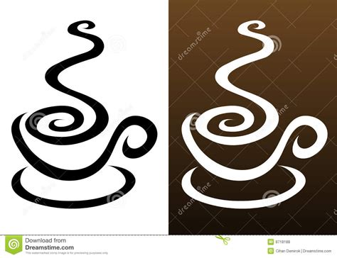 Coffee Cup Icons Royalty Free Stock Photos   Image: 8718188
