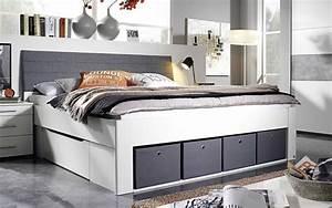 Auto Als Bett : bett scala in alpinwei grau online bei hardeck kaufen ~ Markanthonyermac.com Haus und Dekorationen