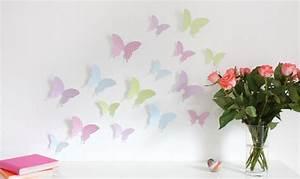 3d Schmetterlinge Wand : wandtattoo 3d schmetterlinge pastell ~ Whattoseeinmadrid.com Haus und Dekorationen