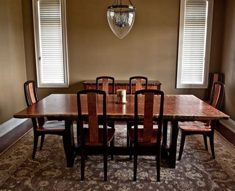 dining room sets bubinga dining table with matching chairs