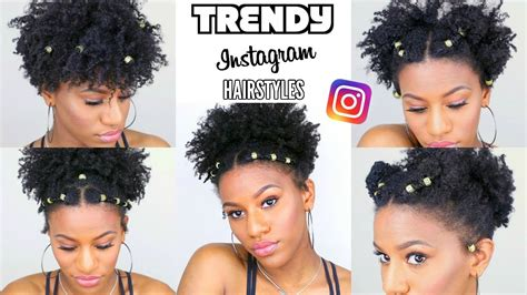 recreating cute natural hairstyles   trending