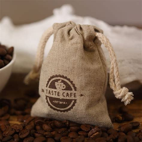 bag golf picture  detailed picture  logo linen hemp bags advertising bag tote coffee