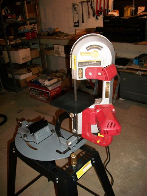 harbor freight portaband table portable bandsaw stand 38 portable band saw horizontal