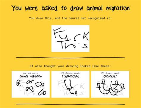 google  spot    recognition  animal migration