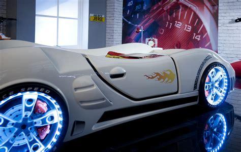 Speedster Ventura Race Car Bed White  Car Bed Shop Kids