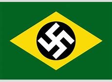 Flag of controlled Brazil in The Man in the High Castle