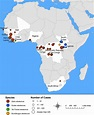 CIENCIASMEDICASNEWS: Distribution Map | Ebola Hemorrhagic ...