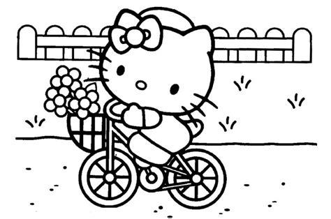 gambar mewarnai hello naik sepeda belajarmewarnai info