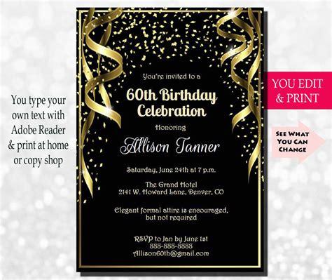 birthday invitation  birthday party invitation
