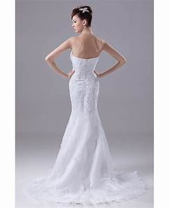 beaded lace sweetheart fitted mermaid organza wedding With beaded lace wedding dress