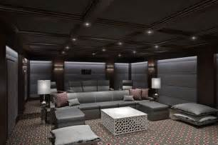 Home Theatre Interior Ct Home Theater Contemporary Home Theater Other By Clark Gaynor Interiors