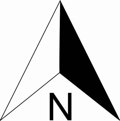 Arrow North Transparent Compass Point Orientation Clipart