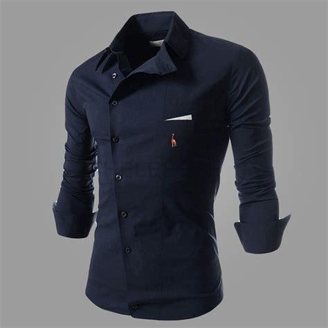 nuevo camisa con larga bai47f7eco801131782 bjwacvq camisas de traje hombre nuevo 2015 casual larga camisa de de color puro delgado vestido de moda de camisetas para