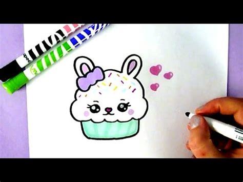comment cuisiner un lapin comment dessiner un cupcake lapin kawaii dessin facile