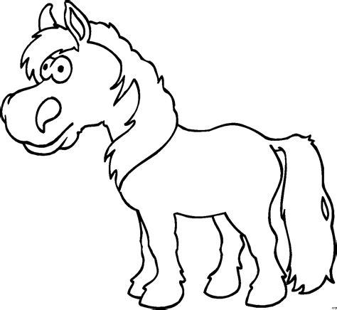 kleines pferd ausmalbild malvorlage comics
