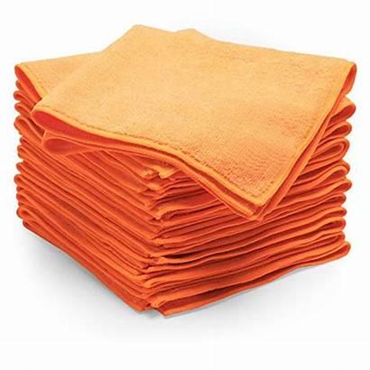 Orange Towels 12pk Microfiber