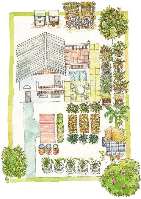 พื้นที่ของความสุขรอบบ้านผ่านวิถี เกษตรทฤษฎีใหม่-บ้านและสวน | การออกแบบสวนผัก, การจัดสวนหน้าบ้าน ...