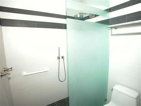 door in wall panel bathroom glass panel audidatlevante 7028