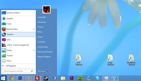 start menu  return   desktop optimized