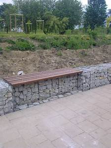 Mur De Soutenement En Gabion : murets d coratifs banc en gabions ~ Melissatoandfro.com Idées de Décoration