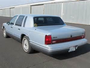 1994 Lincoln Town Car In Pristine Condition  Cartier