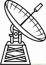 Coloring Pages Satellite Telescope Radio Astronomy Printable Space Satelite Technology Hubble Dibujo Drawing Dibujos Google Satelites Coloringpages101 Supercoloring Popular Categories sketch template