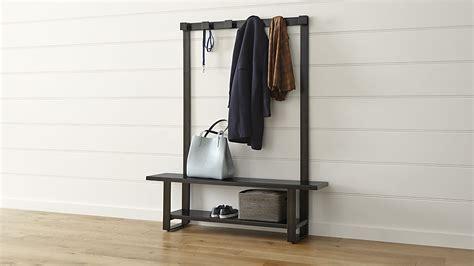 Modern Entryway Bench Coat Rack — Stabbedinback Foyer